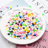 Wholesale 50PCS Styrofoam Pill Decorative Slime Colorful  DIY Craft For Crunchy Slime homemade  balls diy accessories - thefashionique