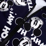 Winter Mickey Baby Boys Clothing Sets Minnie Thick Jacket Sweatshirt Pant 2psc Girls Sports Suit Casual Outfit Baby Kid Clothing - thefashionique