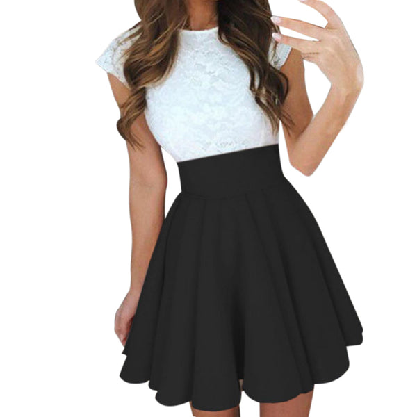 Womail Women skirt Summer Fashion Party Cocktail Mini Skirt Ladies Summer Skater Skirt Casual Daily 2019 dropship f8 - thefashionique
