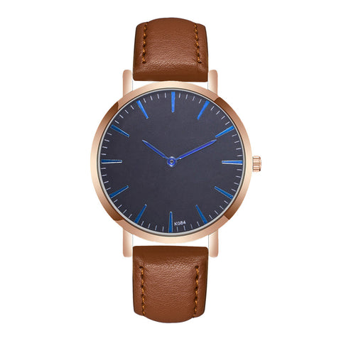Women Fashion Color Strap Digital Dial Leather Band Quartz Analog Wrist Watches Ladies Bracelet Chain Quartz Clock Christmas A40