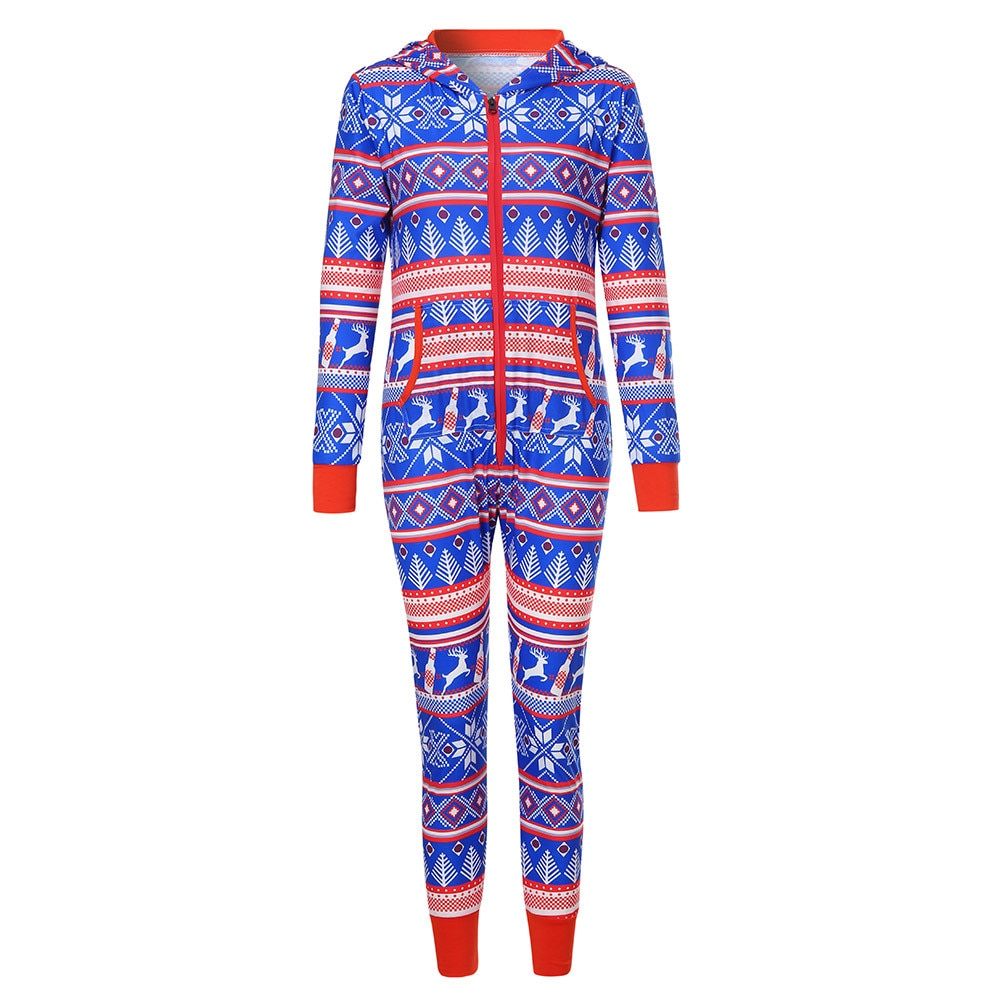 Women Long Sleeve Christmas Printed Hoodie Pyjamas Performance Suit  Jumpsuit High Waist Wide Leg Pants Female Casual - thefashionique