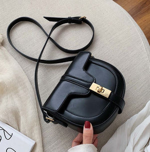 Women Saddle Packs Handbag Luxury Small Crossbody Bags for Woman 2019 Fashion High Quality Leather Messenger Bag Female Totes