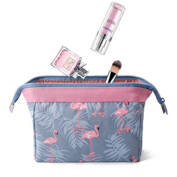 Women Travel Cosmetic Bag Animal Flamingo Make Up Bags Girl Function Makeup Case Beauty Wash Organizer Toiletry Storage Bag - thefashionique