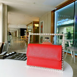Women's Bag 2020 Spring and Summer Square Crystal Square Sling Bag Evening Bag Hand Bag Fashion