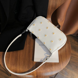 Women's Underarm Bag 2020 fashion trend versatile Daisy one-shoulder baguette cross-body Baguette Ins ultra hot bag
