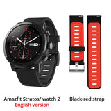 Xiaomi Huami Amazfit 2 Amazfit Stratos Pace 2 Smart Watch Men with GPS Xiaomi Watches PPG Heart Rate Monitor 5ATM Waterproof - thefashionique