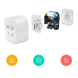 Xiaomi Original Mijia Smart Plug Socket Enhanced Dual USB Fast Charger ZigBee/Basic Socket USB Wireless WiFi Mi Home APP Control - thefashionique