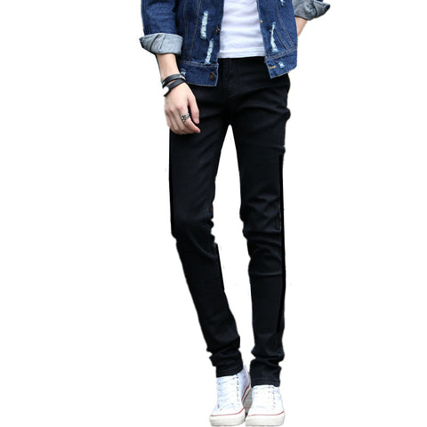 Y2011-A1326 2018 spring autumn new zipper Korean version men fashion trend jeans cheap wholesale Factory direct sale