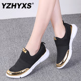 YZHYXS women casual shoes slip on flat walking sneakers mesh breathable comfort ladies loafers light weight jogging shoes - thefashionique