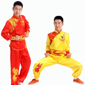 Yangko clothing dance waist drum team Performing Costumes chinese Dragon Dance suits