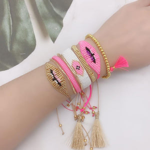 ZHONGVI MIYUKI Beaded Bracelet For Women Bileklik Pulseras Mujer 2020 Handmade Woven Charm Bracelets Set Female Fashion Jewelry