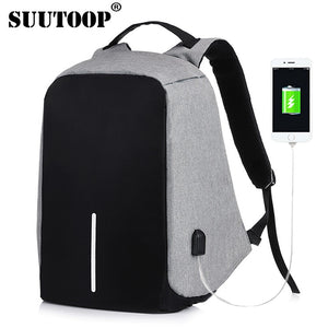 bobby backpack Anti Theft Backpack Kid 2018 Men Women USB Black 15inch Laptop Fashion Travel School Bags Bagpack Drop Shipping - thefashionique