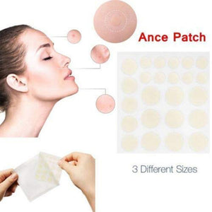 brand new 24pcs/pack hydrocolloid acne patches acne patch set for acne pimple healing face spot scar care treatment stickers - thefashionique