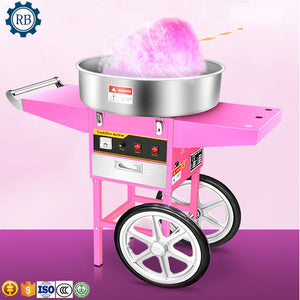 easy move cotton candy make machine low noisy cotton candy maker machine