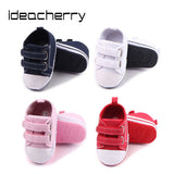 ideacherry Brand Spring Autumn New Double-row Hook&Loop Baby Toddler Shoes Rubber Sole Baby Shoes Baby First Walker Hot Sale - thefashionique