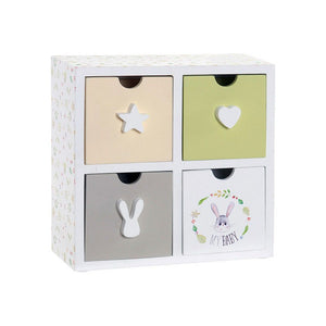 Jewelry box Dekodonia My Baby Rabbit (21 x 9 x 22 cm)
