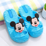 kids Mickey Mouse Minnie Cartoon slippers summer Boys and Girls Non-slip Hole  Beach shoes size 24-35 - thefashionique