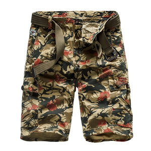 man fashion Camouflage Cargo Shorts Cotton Casual military Short Pants 2019 Summer streetwear Clothes Comfortable Camo shorts - thefashionique