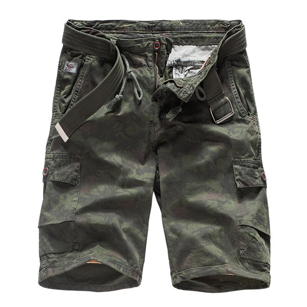 man fashion Camouflage Cargo Shorts Cotton Casual military Short Pants 2019 Summer streetwear Clothes Comfortable Camo shorts