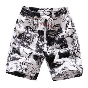 new fashion printed men cotton shorts men's casual shorts drawstring waist bermuda shorts S-4XL drop shipping ABZ262 - thefashionique