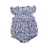 orangemom Newborn - 3 years Baby Girls Butterfly sleeve Romper 3 colour baby rompers summer nice  flower clothing girls - thefashionique