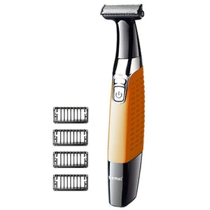 washable oneblade body shaver face electric shaver for men edge razor man grooming kit cleaning shaver beard shaving machine - thefashionique