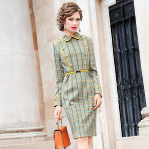 work pencil Celebrities dresses spring 2020 new Superior quality Package hip Party Dress 3xl Women sexy Full sleeve winter dress
