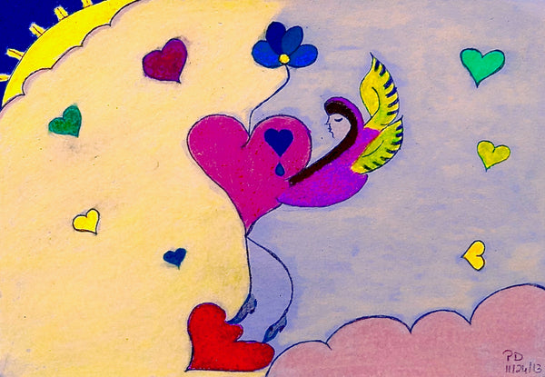 "Create A ""Being With Heart"" Greeting Card (1 of 15): Select Your Words and Illustrations"