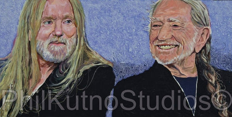 Willie Nelson and Gregg Allman