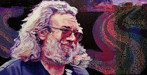 Jerry Garcia Painting #5