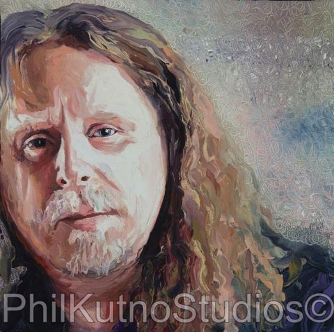 Warren Haynes Oil Painting