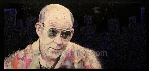 Hunter S. Thompson Painting #2