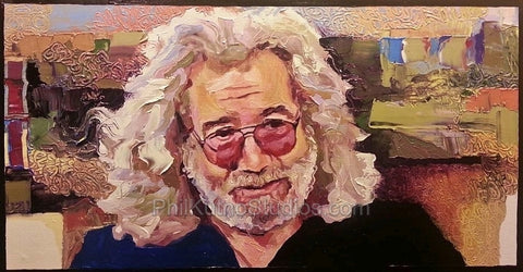 Jerry Garcia Painting #2