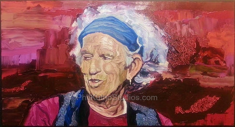 Keith Richards Painting #1
