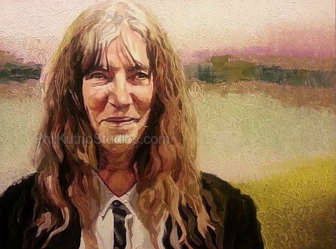 Patti Smith Painting #1