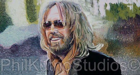 Tom Petty Oil Painting