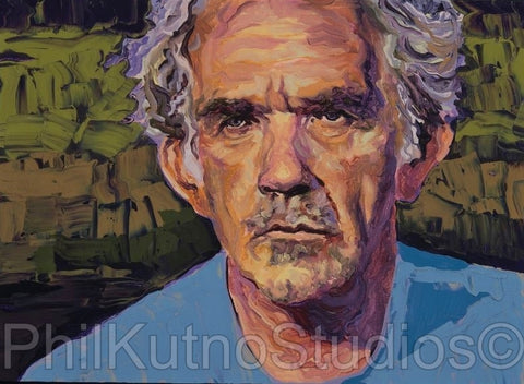 JJ Cale Oil Painting