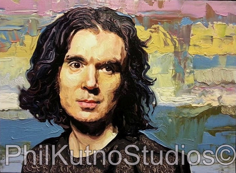David Byrne Oil Painting