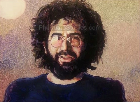 Jerry Garcia Painting #1