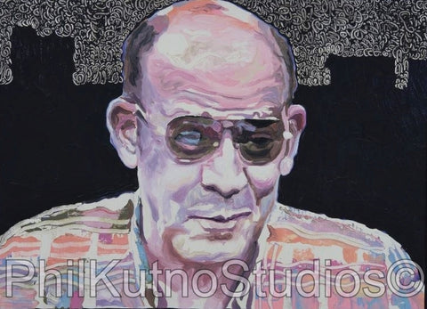 Hunter S. Thompson Painting #1