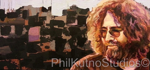 Jerry Garcia Acrylic on Canvas