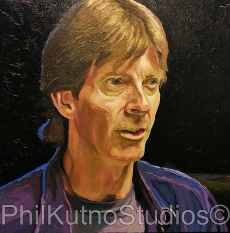 Phil Lesh Oil Painting