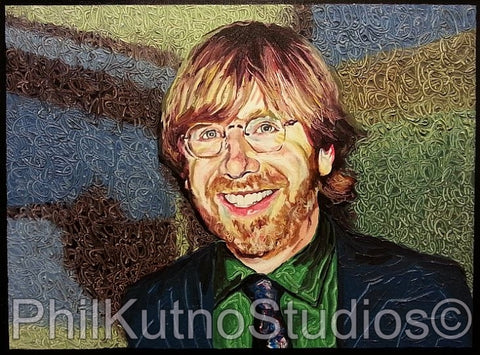 Trey Oil Painting