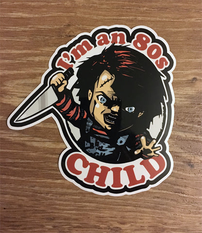 80's Child Sticker