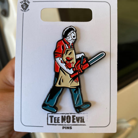 Butcher Soft Enamel Pin