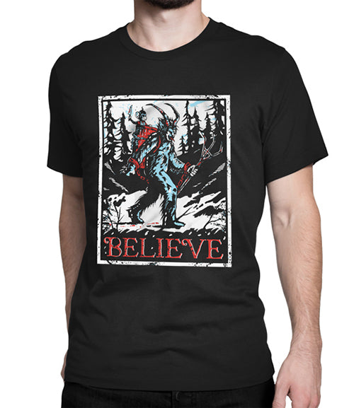 Krampus Believe Shirt