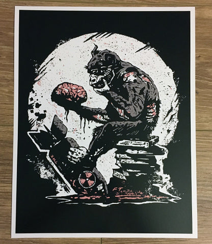 Wise Ape  Art Print