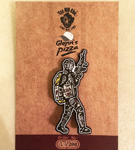 Delivery Boy Limited Edition Pin
