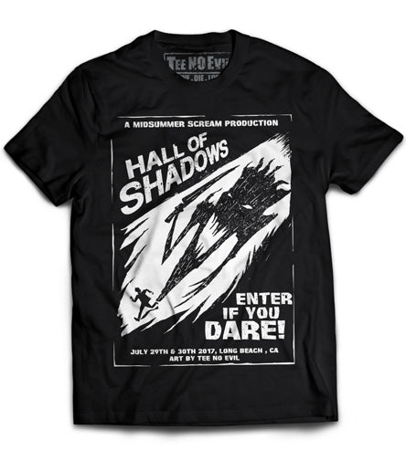 Hall Of Shadows Midsummer Scream 2017 Tee