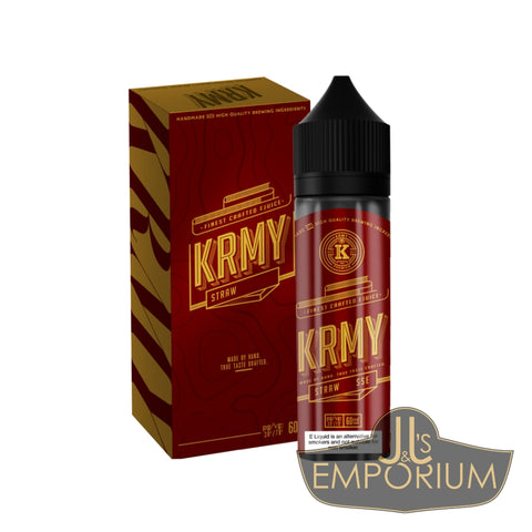 KRMY Strawberry Custard (60mls)